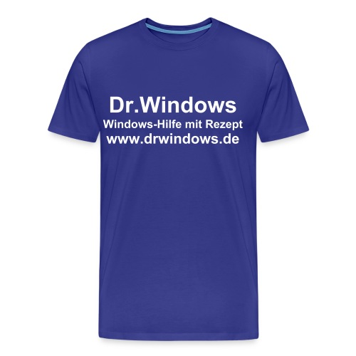 Dr. Windows T-Shirt Text - Männer Premium T-Shirt