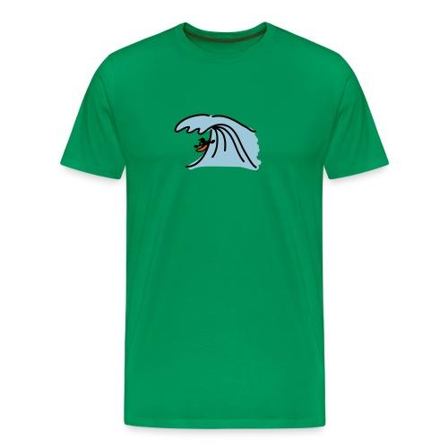 Surf, herr - Men's Premium T-Shirt