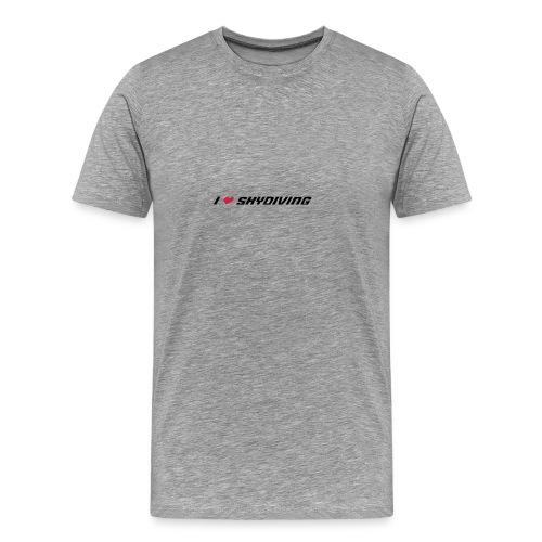 I live skydiving - Männer Premium T-Shirt