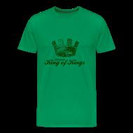T-Shirts ~ Men's Premium T-Shirt ~ Larsson - King of Kings