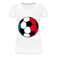 T-Shirts ~ Frauen Premium T-Shirt ~ Weiß ball T-Shirts