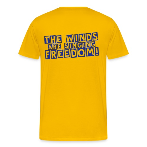 The Winds are singing freedom - Maglietta Premium da uomo