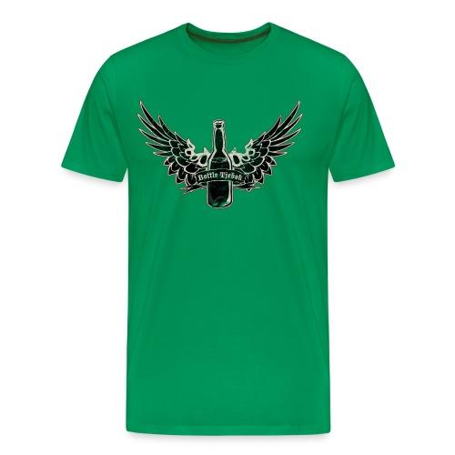Bottle Tjebok STANDARD - Mannen Premium T-shirt