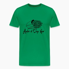 Kelly green A Poke of Chips Now Men's T-Shirts