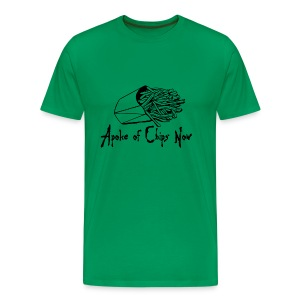 A poke of Chips Now - Men's Premium T-Shirt