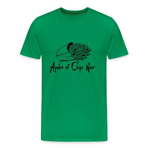 A poke of Chips Now - Men's Premium T-Shirt