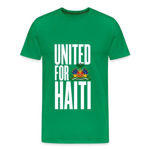 T-Shirt United for Haiti - T-shirt Premium Homme
