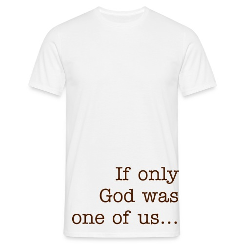 The t-shirt of God! - Herre-T-shirt