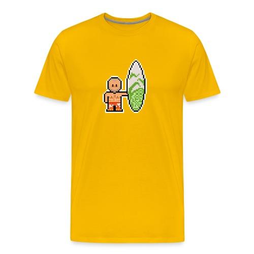 T-shirt Surfeur Homme - T-shirt Premium Homme