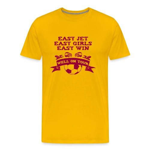 Easy Jet Motherwell T-Shirt - Men's Premium T-Shirt