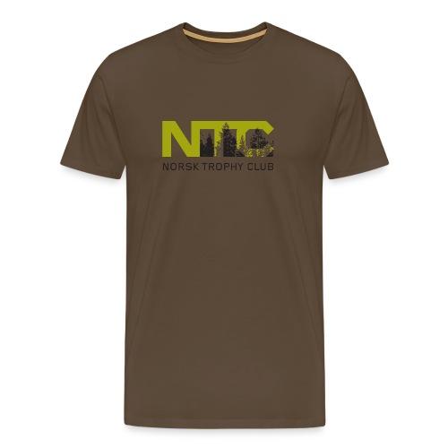 NTC / Norsk Trophy Club - Premium T-skjorte for menn