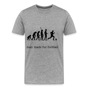 evolution fishing t shirt - Men's Premium T-Shirt
