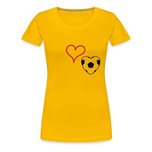 Frauenfußball - Frauen Premium T-Shirt