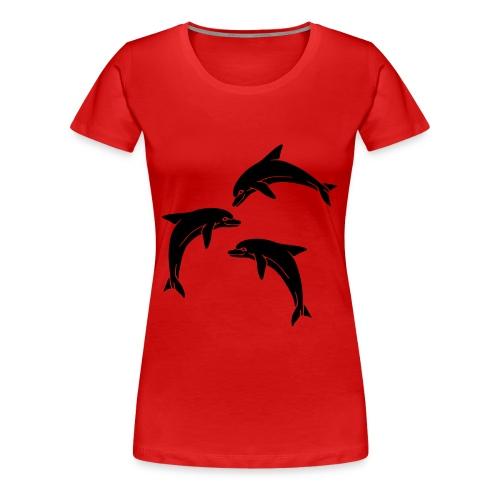 Dolphinz - Women's Premium T-Shirt