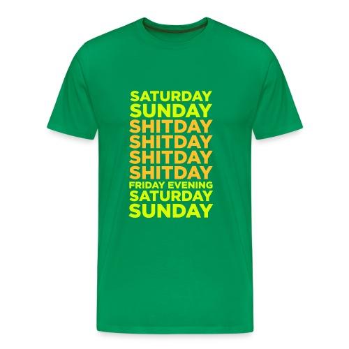 De Week - Mannen Premium T-shirt
