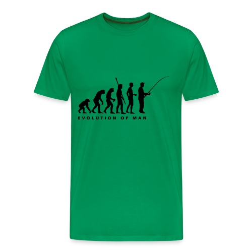 Evolution Of Fishing tee shirt - Men's Premium T-Shirt