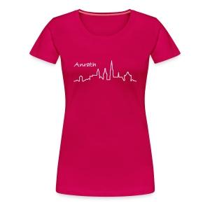 Anrather Damen-T-Shirt farbig - Frauen Premium T-Shirt