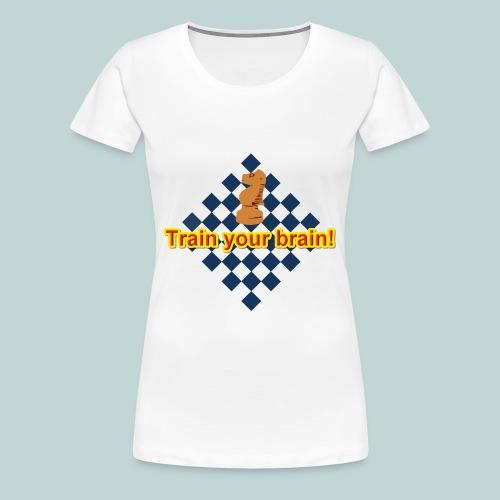 Brain Springer 1 - Frauen Premium T-Shirt