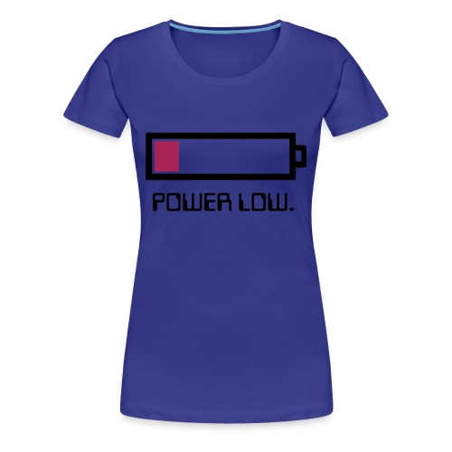 Power Low Damenschirt - Frauen Premium T-Shirt