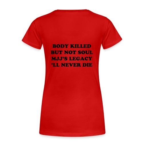JUSTICE IS DONE FOR MJJ - T-shirt Premium Femme