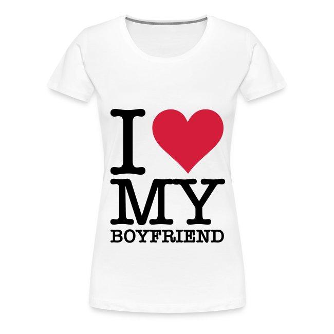 T- Paita - I love my boyfriend