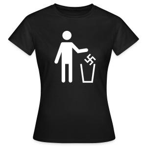 Anti-Nazi Girl-Shirt - Frauen T-Shirt