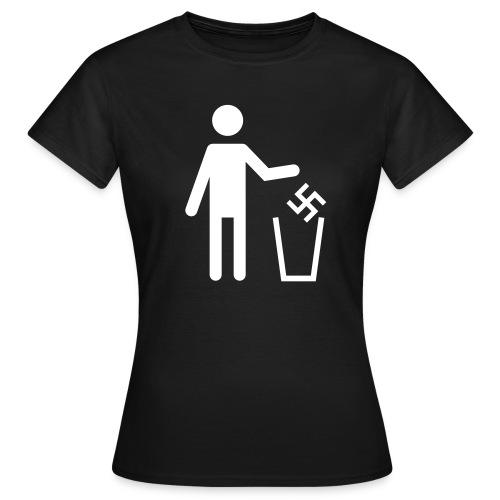 Anti-Nazi Girl-Shirt - Frauen T-Shirt