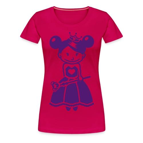 T shirt femme = princesse - T-shirt Premium Femme