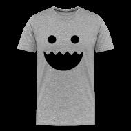T-Shirts ~ Men's Premium T-Shirt ~ Polycount GREENTOOTH'd - Grey