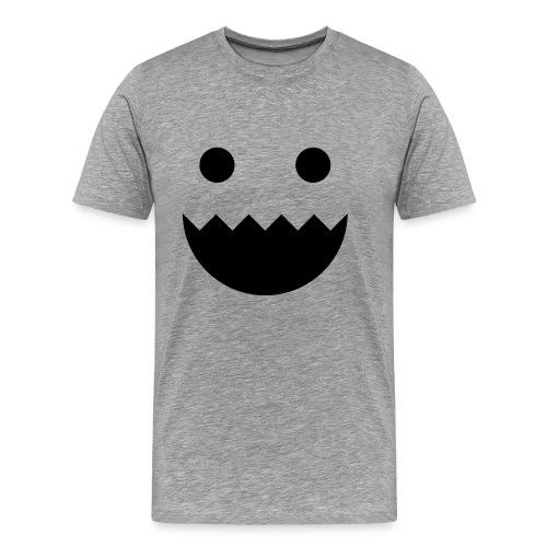 Polycount GREENTOOTH'd - Grey - Men's Premium T-Shirt
