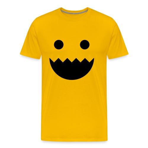 Polycount GREENTOOTH'd - Yellow - Men's Premium T-Shirt