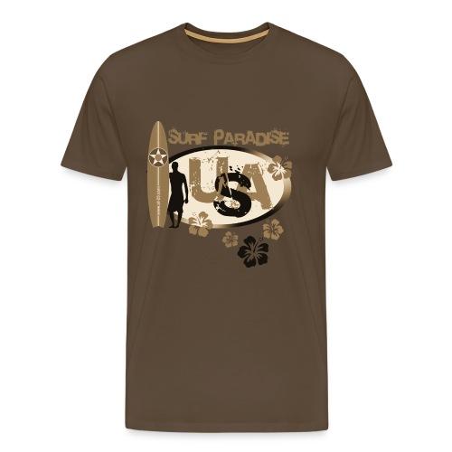Surf Paradise - Men's Premium T-Shirt