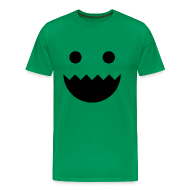 T-Shirts ~ Men's Premium T-Shirt ~ Polycount GREENTOOTH'd - Green