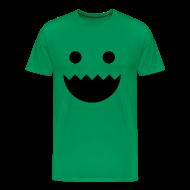 T-Shirts ~ Men's Premium T-Shirt ~ Polycount GREENTOOTH'd - Green