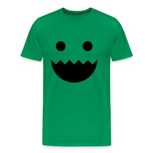 Polycount GREENTOOTH'd - Green - Men's Premium T-Shirt