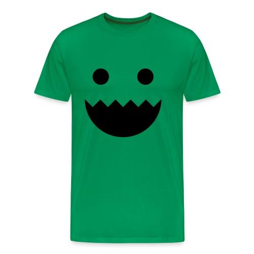 Polycount GREENTOOTH'd - Green - Men's Premium T-Shirt