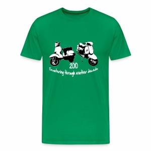 Scootering through - Men's Premium T-Shirt
