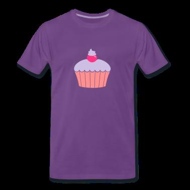 Indigo Muffin / cup cake (3c) Men's T-Shirts