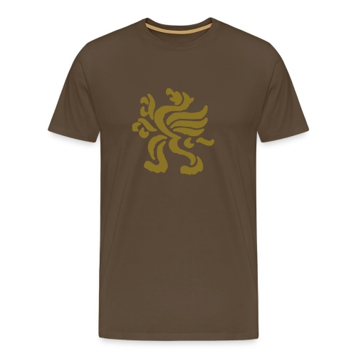 Gold Gryphon - Men's Premium T-Shirt