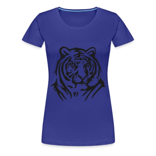 Black Tiger - Frauen Premium T-Shirt