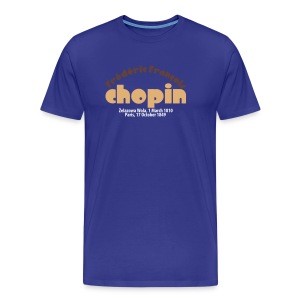 Mr Chopin at Sea Lmt. Edition - Men's Premium T-Shirt