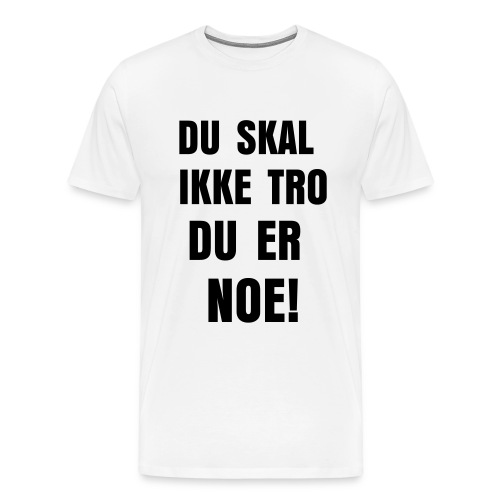 Premium T-skjorte for menn