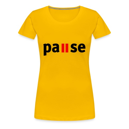 Game - Premium-T-shirt dam