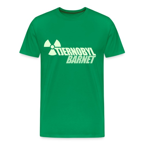 TJERNOBYLBARNET GLOW-IN-THE-DARK - Premium-T-shirt herr