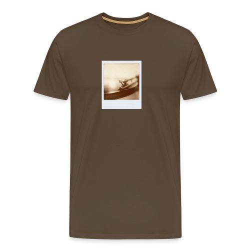 Polaroid Vinyl B/W - Männer Premium T-Shirt