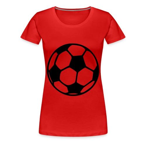 T-Shirt Football - T-shirt Premium Femme
