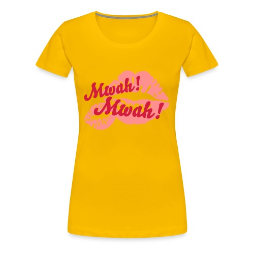 Mwah Mwah by Chris Evans - Women's Premium T-Shirt