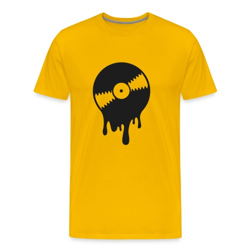 T Shirt Vinyl scintillante - Maglietta Premium da uomo