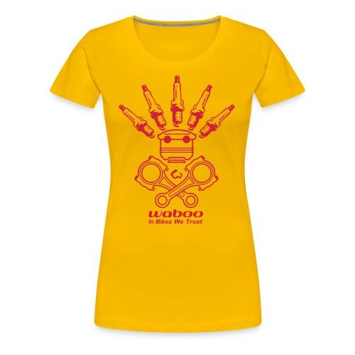 Indian Droid - Basic - T-shirt Premium Femme