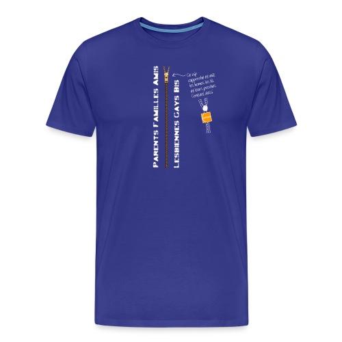 Homos et Proches unis Zip - T-shirt Premium Homme
